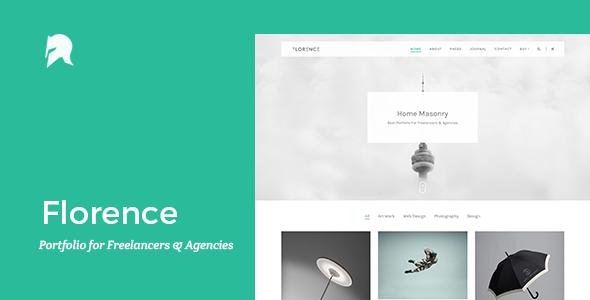 Florence – Portfolio for Freelancers & Agencies (Portfolio) Download