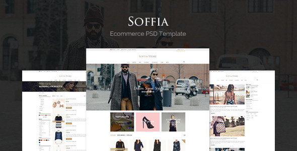 Soffia – eCommerce PSD Template (Fashion) Download
