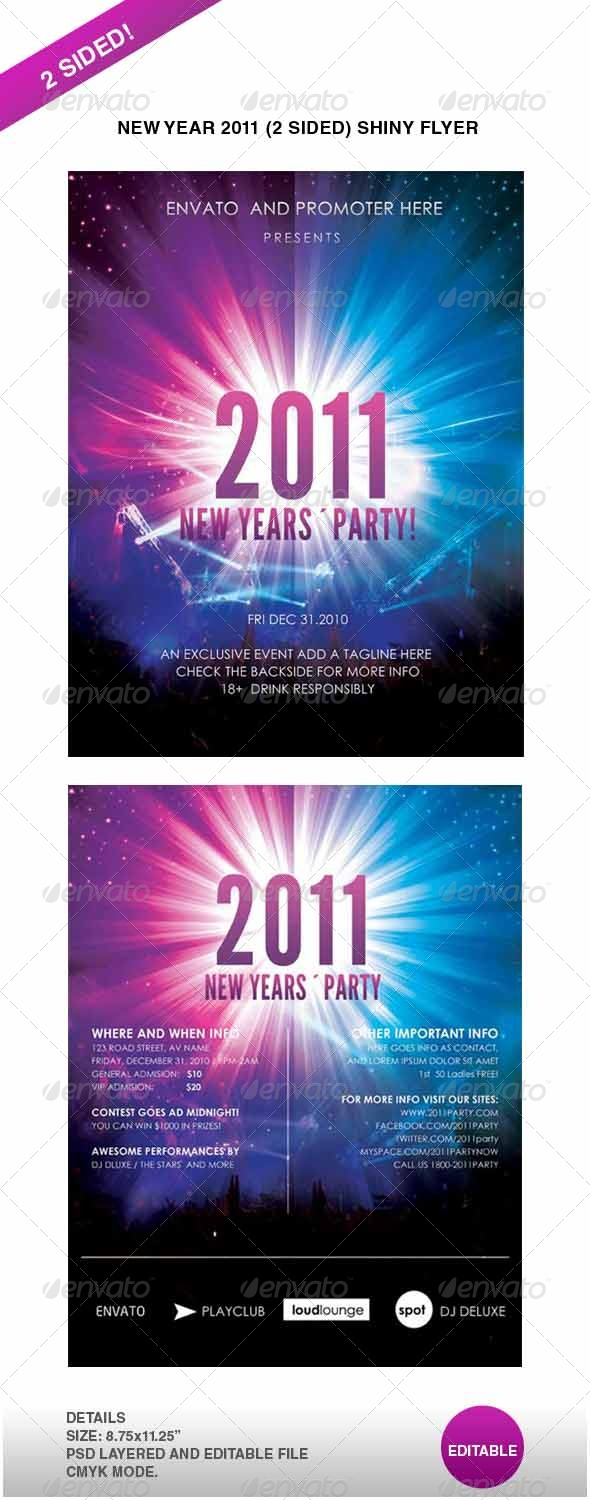 GraphicRiver Ney Year 2011 Shiny flyer 147300