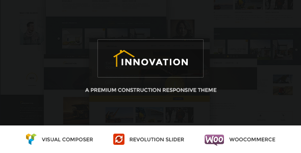 INNOVATION – Construction WordPress Theme (Business) Download