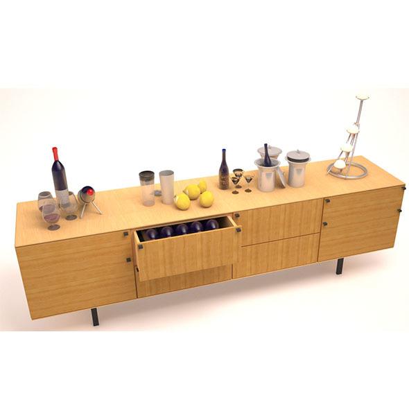 Wine cellar 1 - 3DOcean Item for Sale