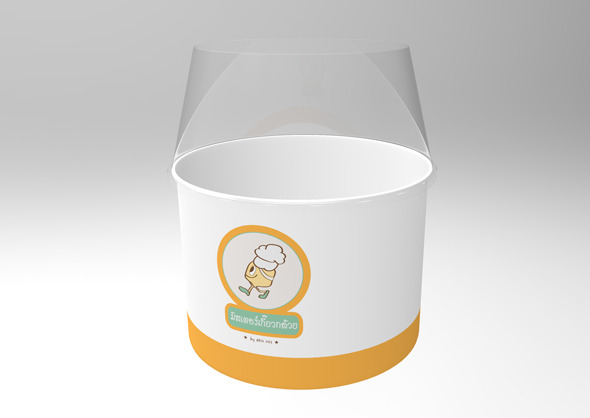 Cup packaging - 3DOcean Item for Sale