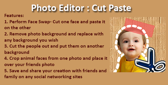 Photo Editor: Cut Paste (Android) Download