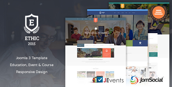 Education, Event and Course - ETHIC Template