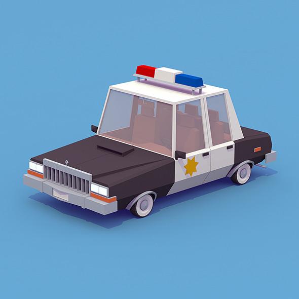 3DOcean Police Car 12068077