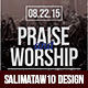 Praise and Worship Flyer / Poster