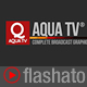 Aqua TV Broadcast Graphic Package