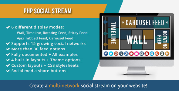 PHP Social Stream (Social Networking) Download