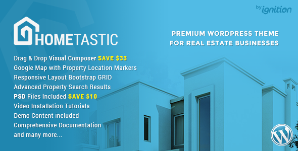 3 - Hometastic - Real Estate WordPress Theme