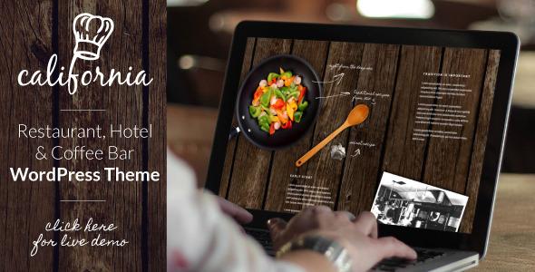 Download California - Restaurant Hotel Shop WordPress Theme nulled download