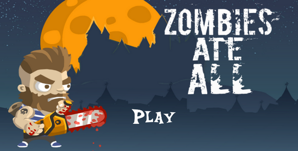 Zombies eat all - CodeCanyon Item for Sale
