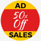 Shopping - HTML5 GWD Ad Banners
