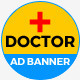 Get Doctor - HTML5 GWD Ad Banners