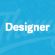 Designer - Professional WordPress Portfolio Theme