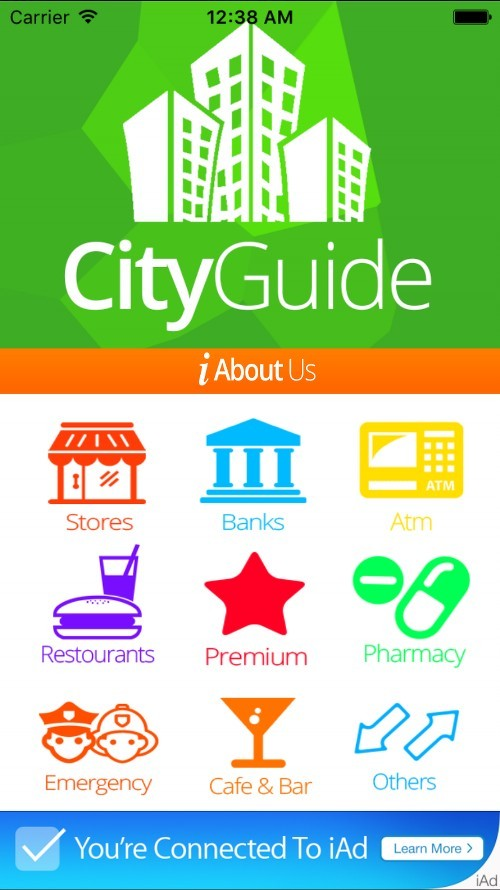 CityGuide iOS Template v21 by iOSApplication – Guide Templates