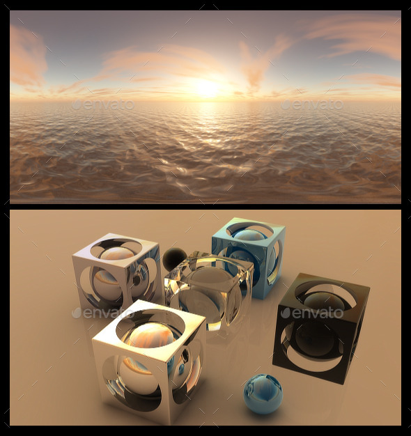 3DOcean Golden Hour HDRI 12072584