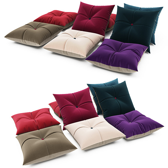 3DOcean Pillows collection 76 12072853
