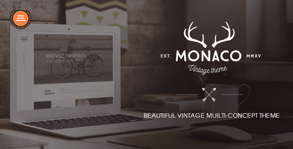 Monaco – Beautiful Vintage Muilti-Concept Theme (Creative) Download