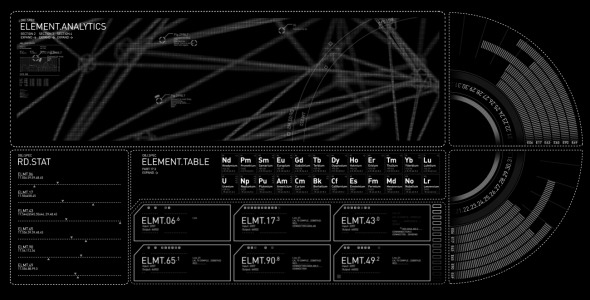 VideoHive Generic Graph HUD Animation 12075435