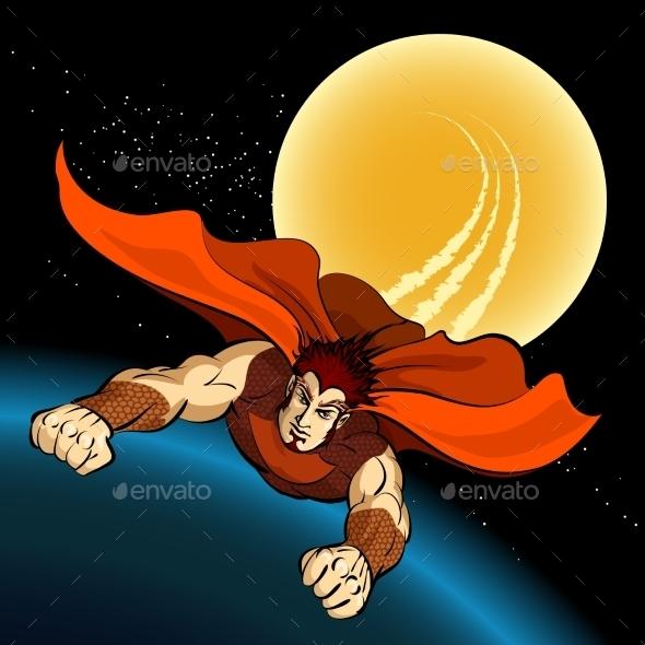Flight of Superhero