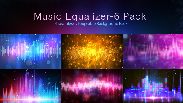 Music Equalizer-6 Pack
