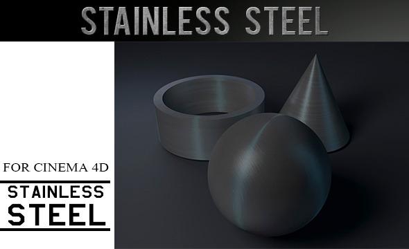 3DOcean Stainless Steel Material 12088134