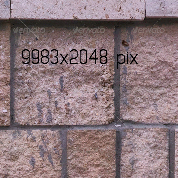 3DOcean Stone Mid Wall Fence 1211806