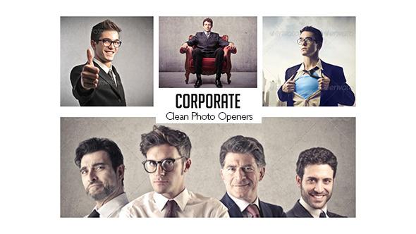 Corporate Photo Openers Logo Reveal