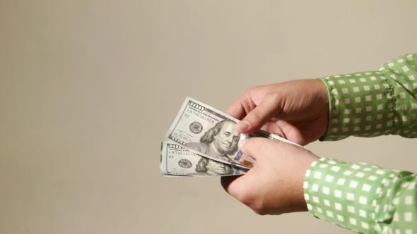 Cash Transaction Gives Dollars