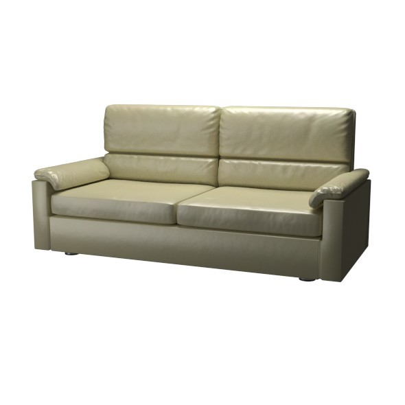 3DOcean Leather Couch 12092095