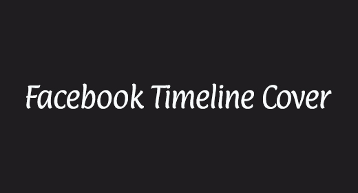 FACEBOOK TIMELINE COVER COLLECTOIN