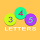 3 4 5 letters iOS 9