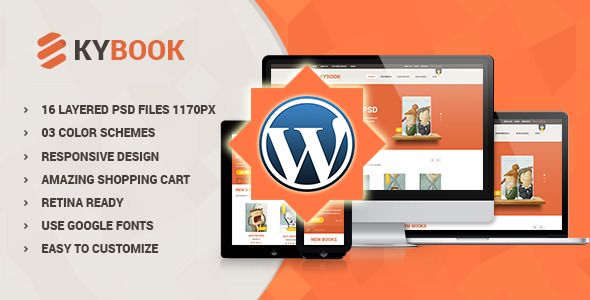 KyBook – Responsive eCommerce WordPress Theme (Shopping) Download