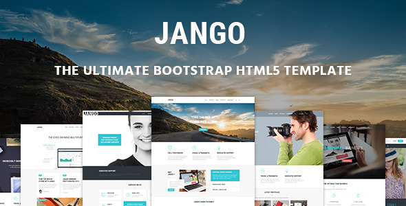 Jango | Responsive Multi-purpose HTML5 Template (Corporate) Download