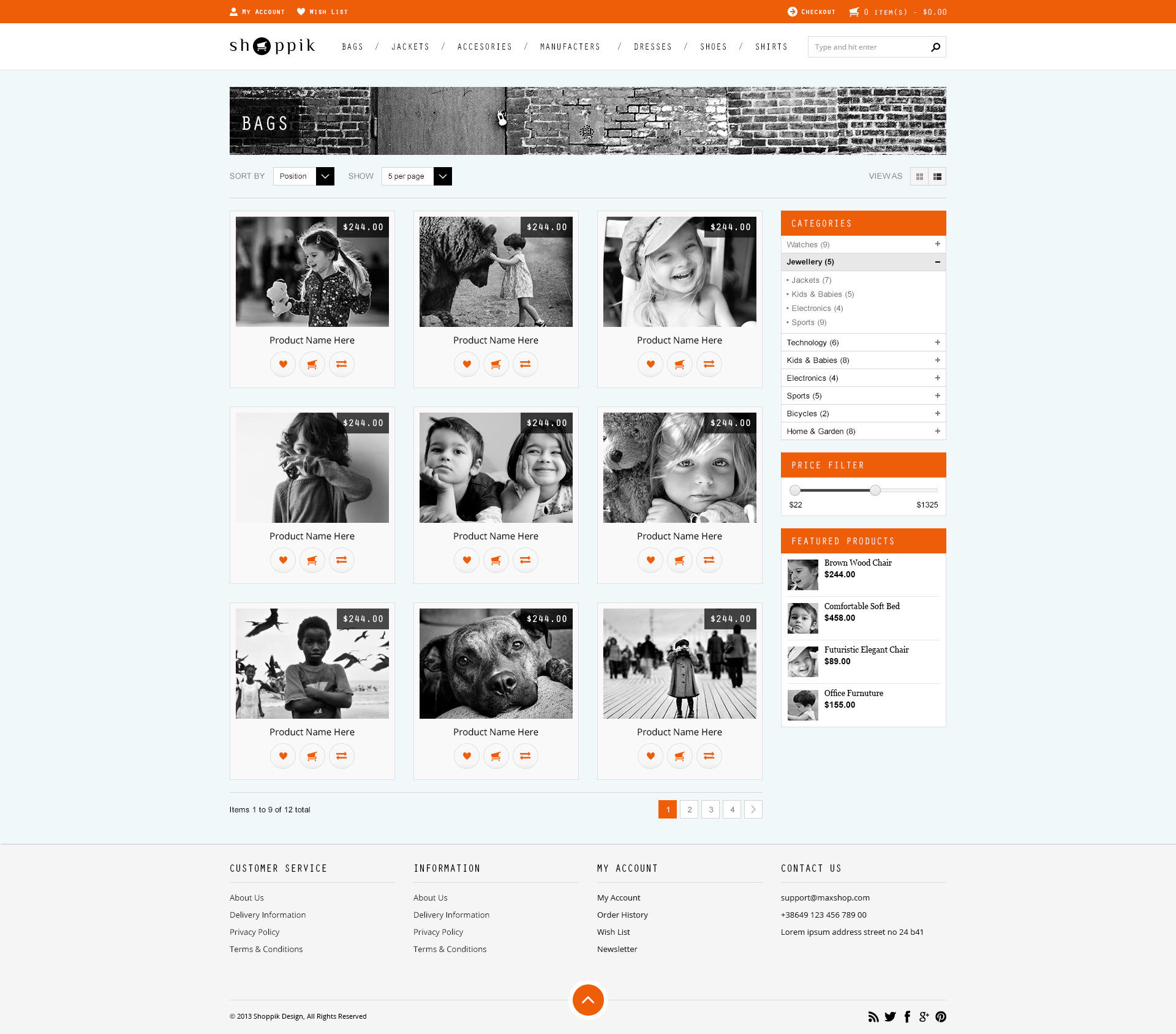 Great 1 Year Experience Resume Format For Java Developer Thin 100th Day Hat Template Round 12 Team Schedule Template 15 Year Old Resume Old 1st Job Resume Objective Soft2014 Yearly Calendar Template Shoppik   HTML Ecommerce Template By PremiumLayers | ThemeForest