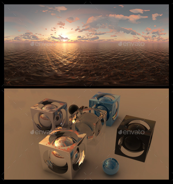 Golden Hour 2 - HDRI - 3DOcean Item for Sale