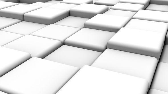 White Cubes Animation