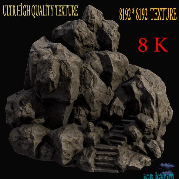 3DOcean Mountain Temple 12103765