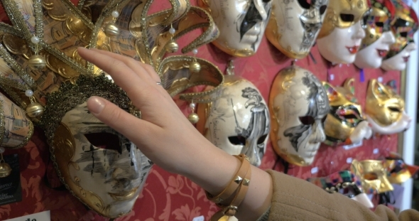 In The Mask Shop In Venice