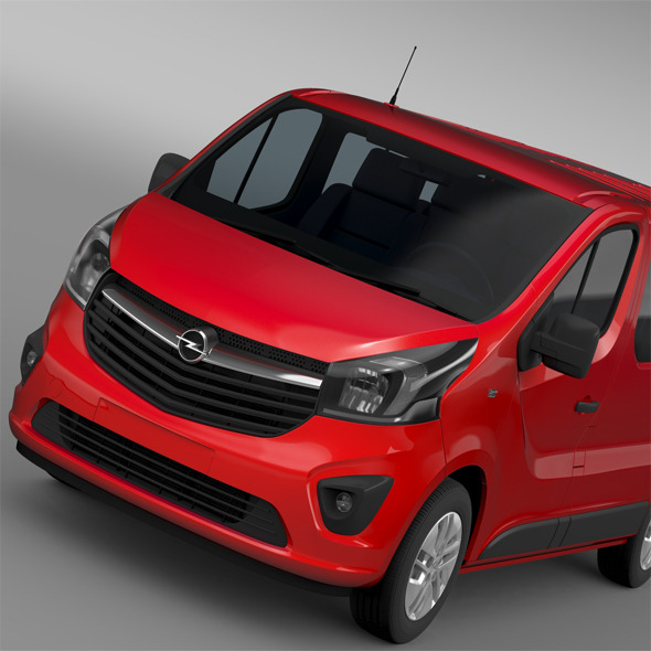 3DOcean Opel Vivaro 2015 12105348