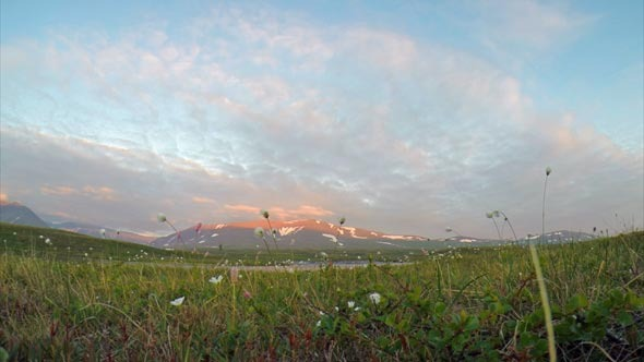 VideoHive Mountains in the Tundra the Arctic Circle 12106771