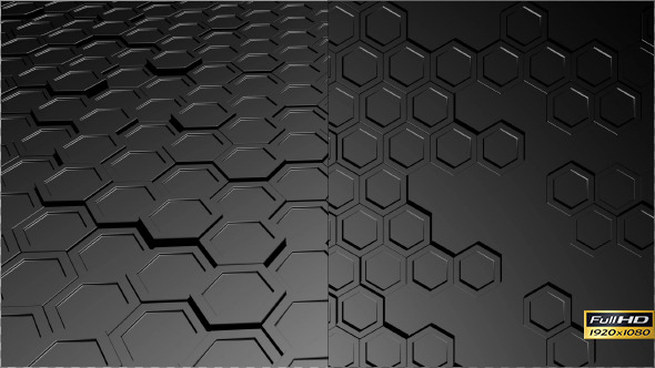 Metallic Hexagons