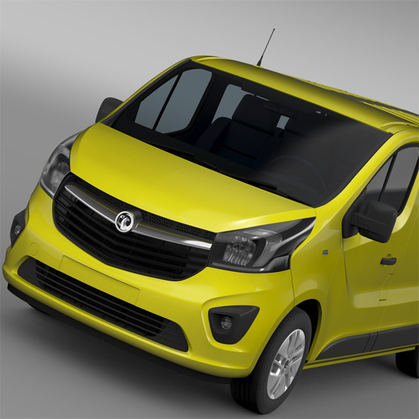 Vauxhall Vivaro 2015 - 3DOcean Item for Sale