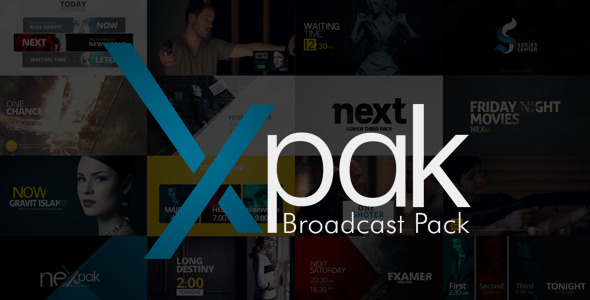 NEXpak After Effects Broadcast Template