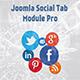 Joomla Social Tabs Module Pro