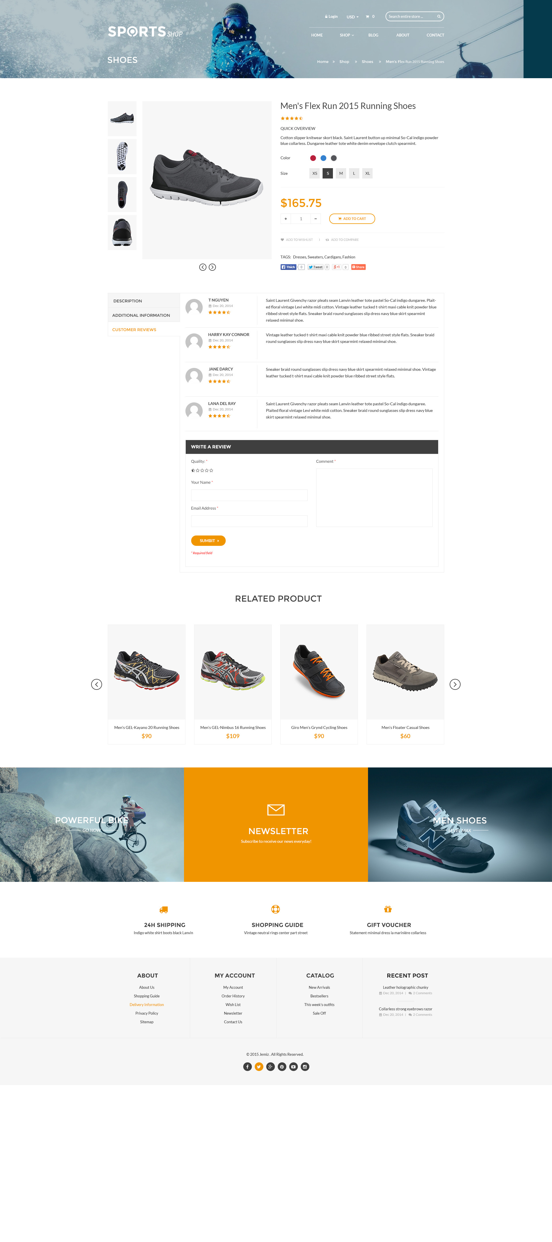 Bootstrap Shopify Theme Winter Sports Amp Outdoors By