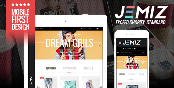 Kids Fashion Store Responsive Shopify Theme - Jemiz