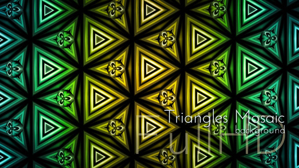 Triangles Mosaic