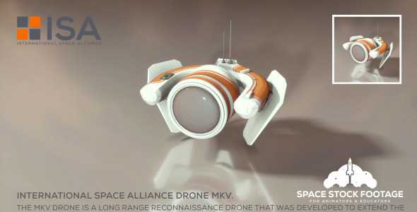 International Space Alliance Drone