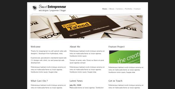 ThemeForest Smart Entrepreneur 48952